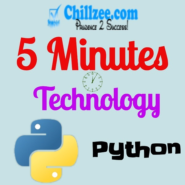Five Minutes Technology - Python
