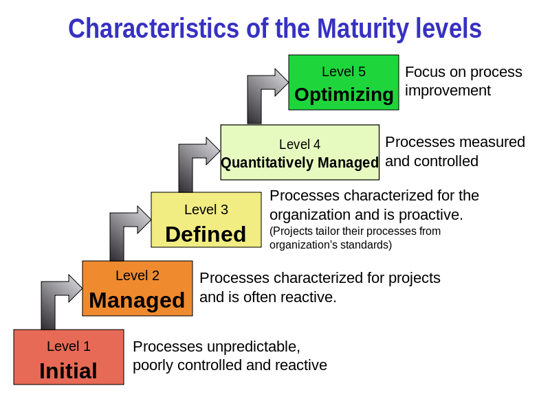 CMMI Processes for Software Testing
